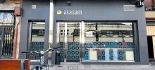Exterior de las instalaciones de Asasam, ubicadas en la calle Tres Cruces de Llodio